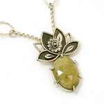 Green Lotus Necklace