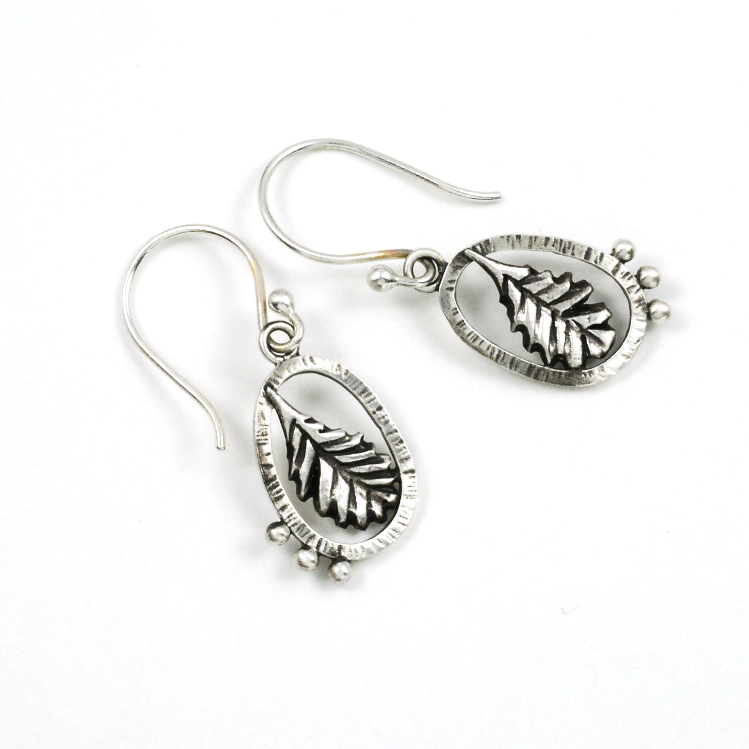 Laurel Leaf Earrings