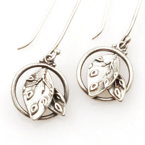 Leaf Ring Earrings