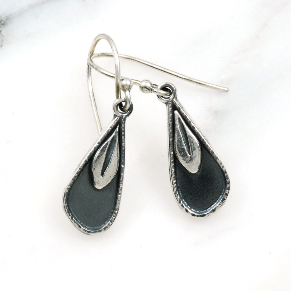 Night Leaf Earrings