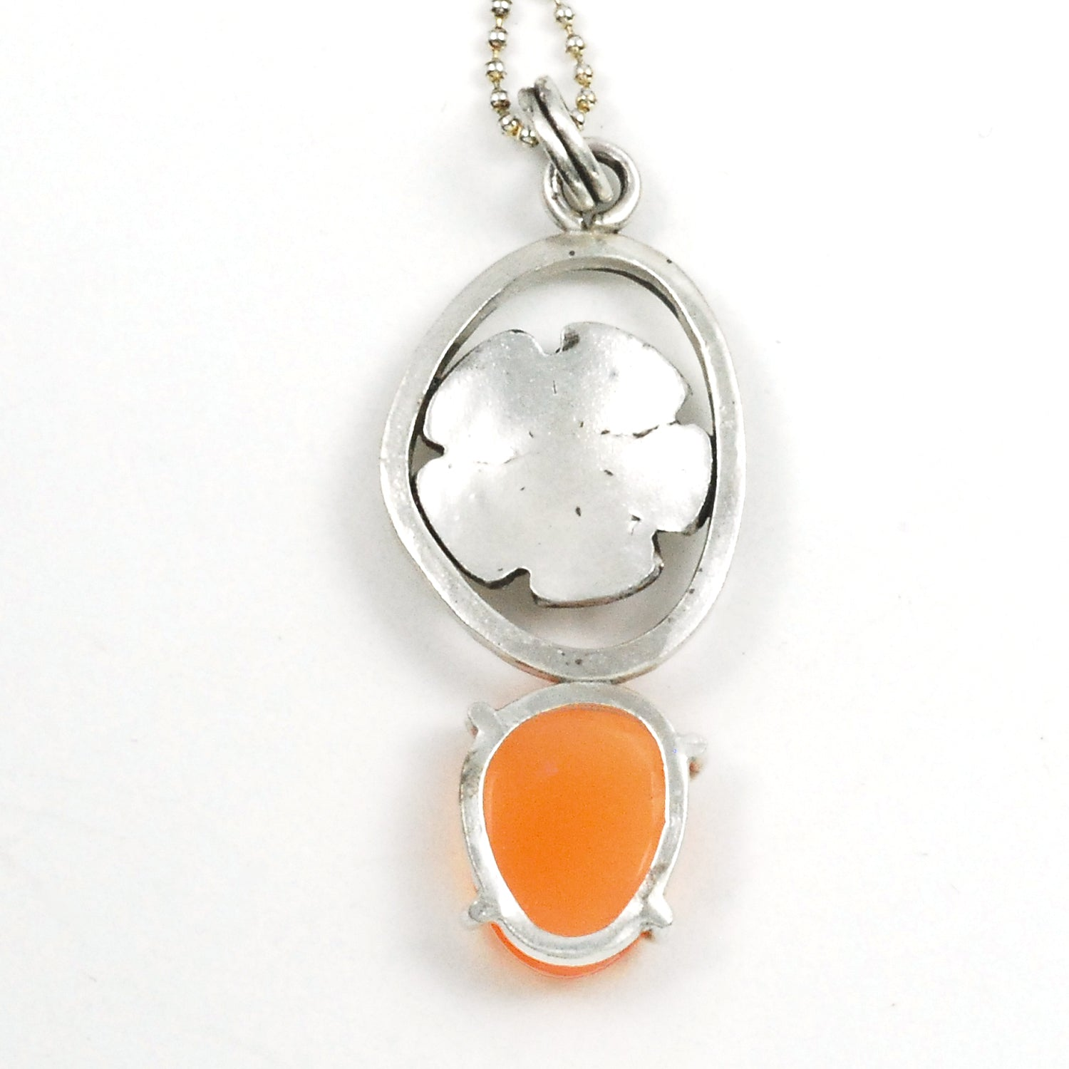 Orange Mallow Pendant
