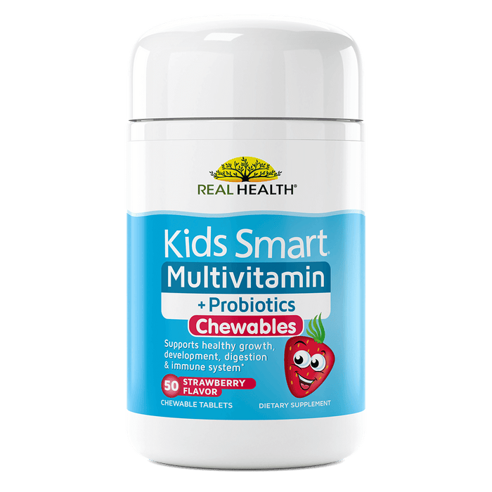 Kids Smart Multivitamin & Probiotics Chewable Tablets – 50ct