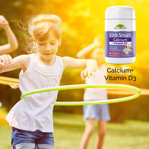 Kids Smart Calcium & Vitamin D3 Chewable Burstlets – 50ct lifestyle image