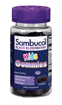 NEW - Sambucol KIDS GUMMIES - available at CVS
