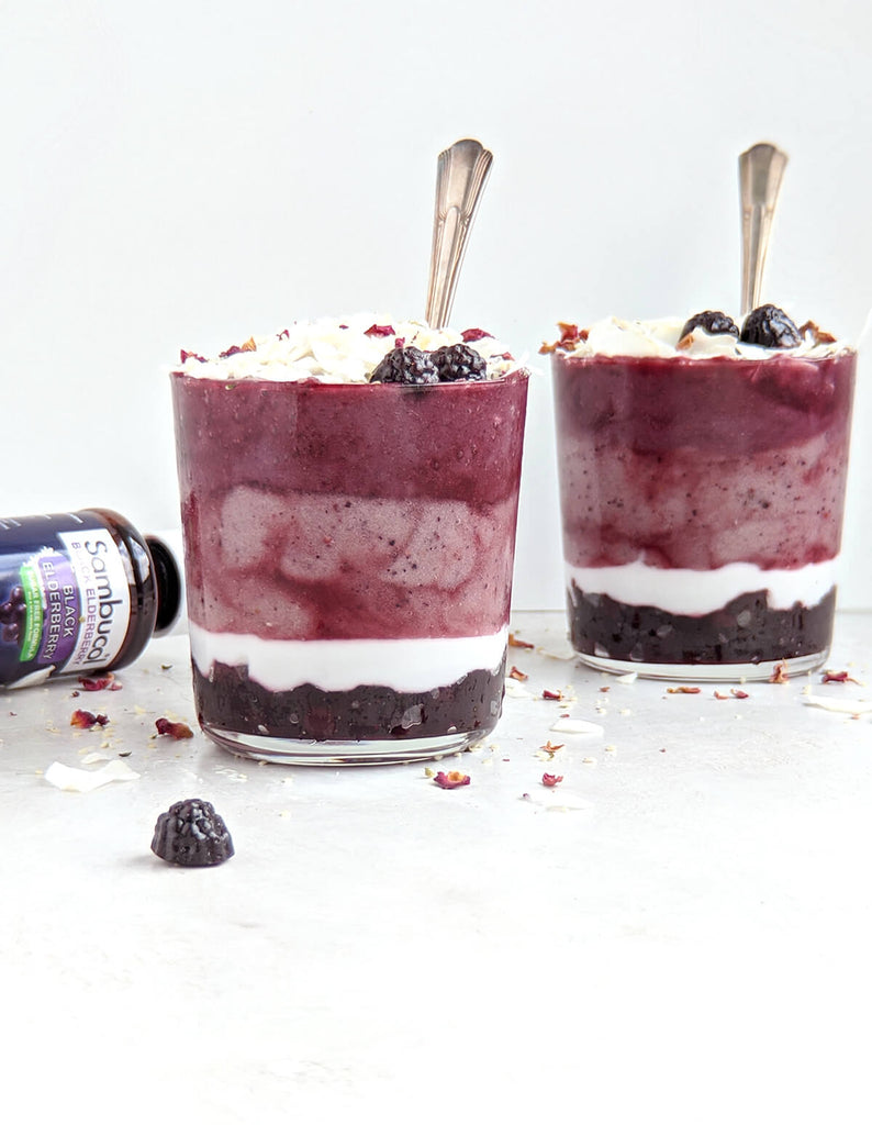 Triple Berry Immune Boosting Smoothie