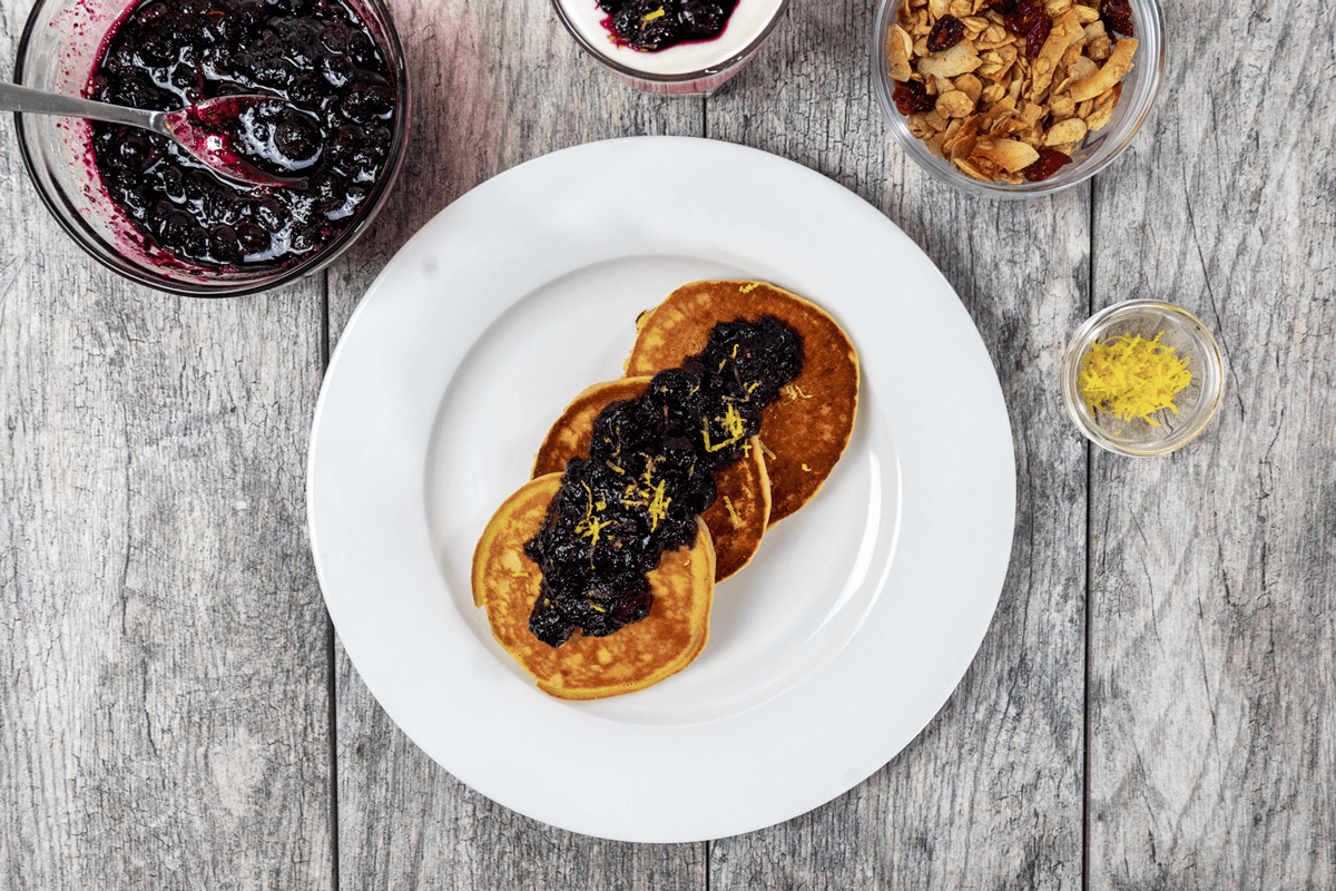 elderberry and blueberry compote recipe