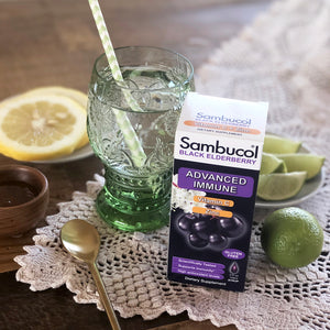 Sambucol Black Elderberry Advanced Immune Syrup Lifestyle Image 2