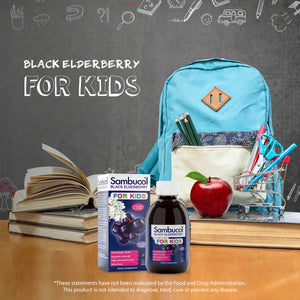 Sambucol Black Elderberry Kids Large Syrup - 7.8 Ounces Lifestyle Image 1