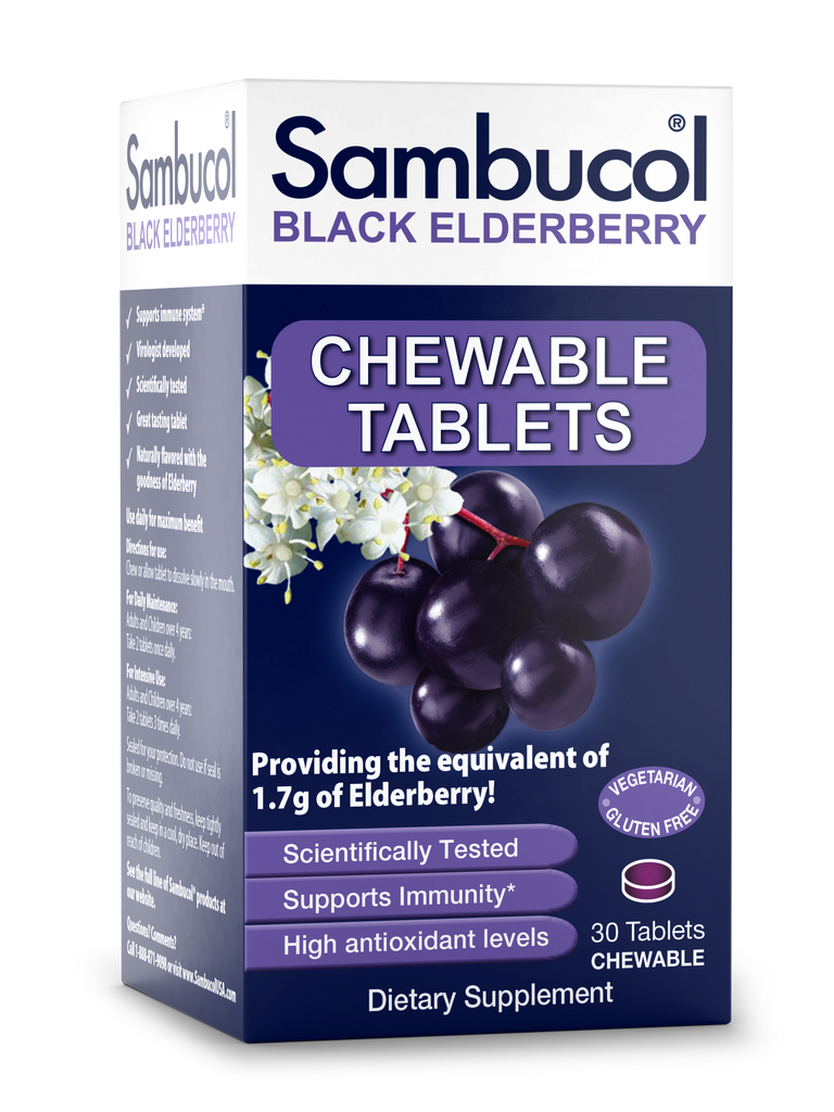 Sambucol Chewable Tablets - 30ct