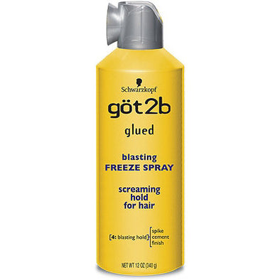 got2b glued blasting FREEZE SPRAY