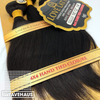 7A Unprocessed Brazilian Virgin Bundle Hair [3Bundles + Closure]