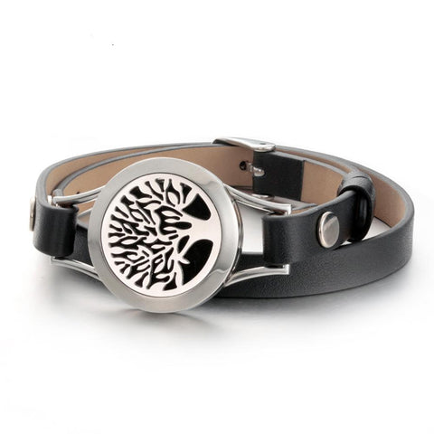 tree of life aromatherapy essential oil diffuser bracelet