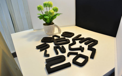Wall Clock Letters