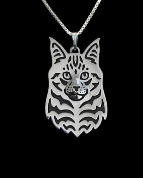 Maine Coon Cat Necklace - VIP Top Cats