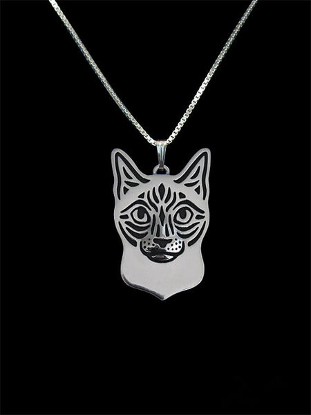 Siamese Cat Necklace - VIP Top Cats