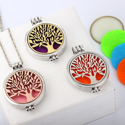 Tree Of Life Aromathrapy Locket - VIP Top Cats