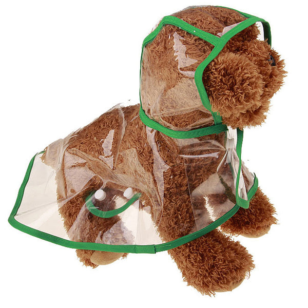 Transparent Waterproof Dog Raincoat - VIP Top Cats