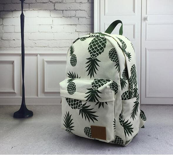 New Designed Backpack Pineapple Printing School Bags - VIP Top Cats