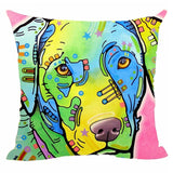 Labrador Abstract Throw Pillow Case Covers For Home Sofa, Seat Or Bed - VIP Top Cats