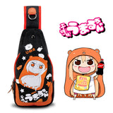 Anime Cat Teacher/kantai collection Washed Canvas Women Messenger Chest Bag - VIP Top Cats