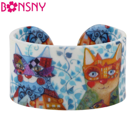 Wide Pattern Design Love Cat Bracelet - VIP Top Cats