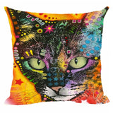 Cute Cat Abstract Art Series Covers For Home Decor - VIP Top Cats