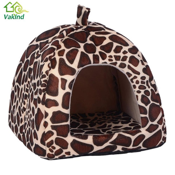 High Quality Soft Cat House Fold-able Animal Cave - VIP Top Cats