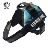 Reflective Nylon Rope Handle Adjustable Dog Harness - VIP Top Cats