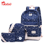New Fashion Women Canvas Backpack School Bags For Girl Teenagers Casual Student Travel Bag - VIP Top Cats