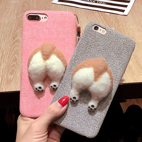 Cute cat & dog cover for apple - VIP Top Cats