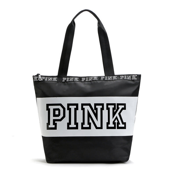 2017 Pink Letter Women Waterproof Shoulder Bags - VIP Top Cats