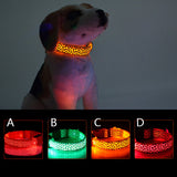 Luminous Leopard Pattern Dog Collar - VIP Top Cats