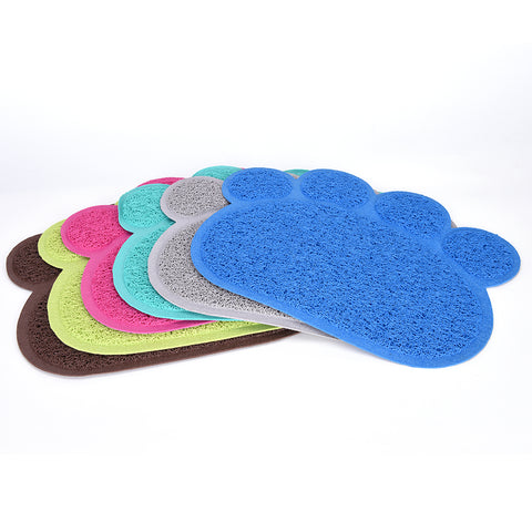 New Cute Paw Pet Feeding PVC Mat Pad - VIP Top Cats