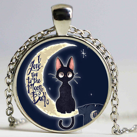 I Love You To The Moon And Back Necklace / Pendant - VIP Top Cats