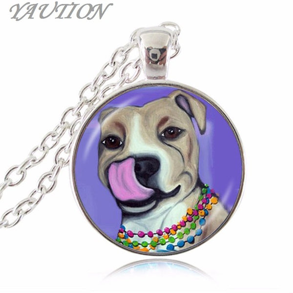 American Pit Bull Terrier Animal Rescue Necklace / Pendant - VIP Top Cats