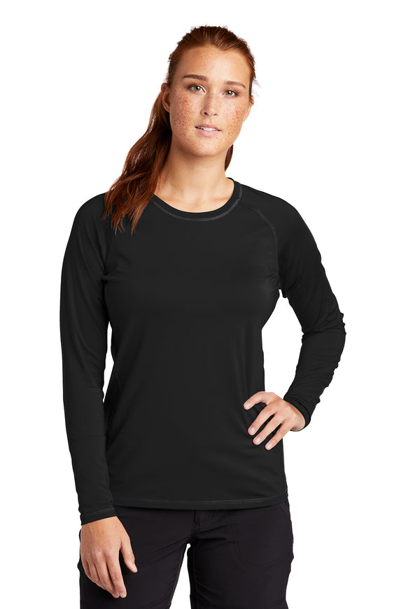VA Sport-Tek ® Ladies Long Sleeve Rashguard Tee