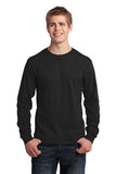 VA Port & Company® Long Sleeve Core Cotton Tee (IMAGING)