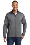 VA Sport-Tek® Sport-Wick® Stretch Contrast Full-Zip Jacket (IMAGING)
