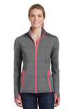 VA Sport-Tek® Ladies Sport-Wick® Stretch Contrast Full-Zip Jacket (HEMONC)
