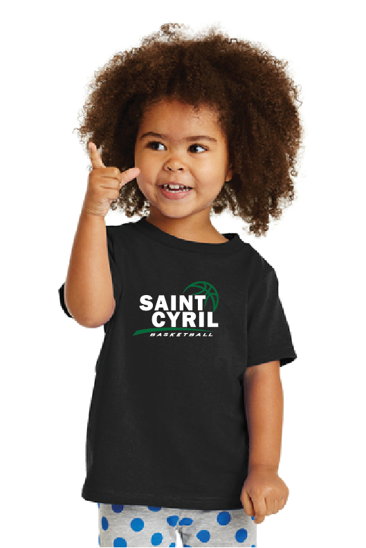 St. Cyril Basketball Fan Shirt - Toddler & Youth