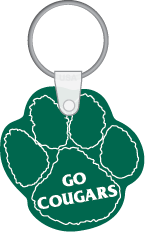 St. Cyril Go Cougars Key Tag