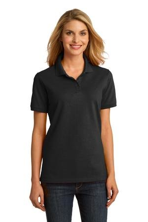 Premier Show Stables Ladies Classic Black Polo w/Logo