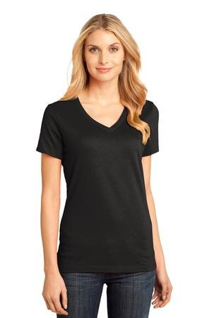 Premier Show Stables Ladies Perfect Weight Black V-neck Tee w/Logo