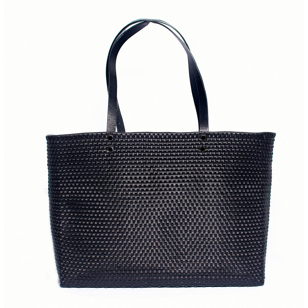 Stella Large Leather Handle Tote