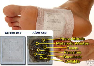 Japanese Foot Patch