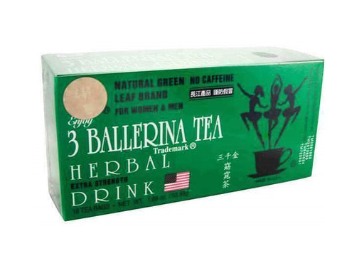 3 Ballerina Tea Herbal Drink Extra Strength from Ballerina Tea Company - Herbal Products Direct