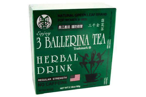 3 Ballerina Tea Herbal Drink Regular Strength from Ballerina Tea Company - Herbal Products Direct