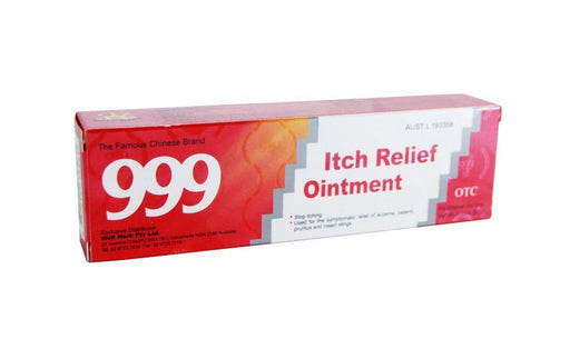 999 Itch Relief Ointment from OTC - Herbal Products Direct