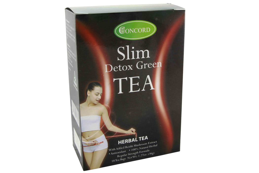Concord Slim Detox Green Tea from Concord - Herbal Products Direct
