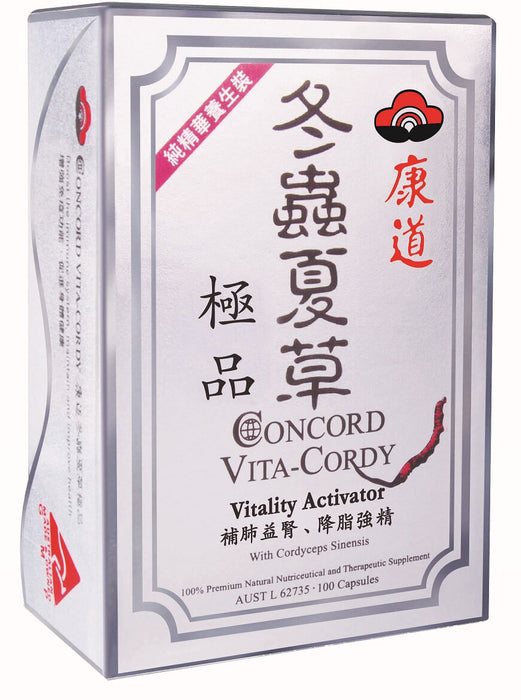 Concord Vita-Cordy Vitality Enhancer from Concord - Herbal Products Direct